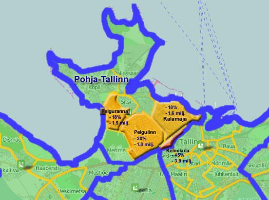 Pohja-Tallinnan myyntiraketti oli uudistuotannon alue 3/2014 (y/y)