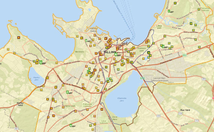 Tallinnan uudistuotanto jo 200 talon haamurajoille